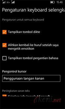 Menampilkan Tombol Pergantian Bahasa di Windows 10 Mobile