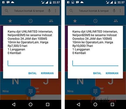 Paket Komplit Ramadhan Indosat Ooredoo SMS Nelpon Internet Unlimited