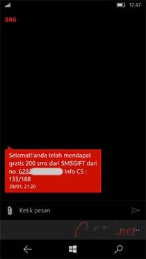 Cara SMS Gift Murah Telkomsel