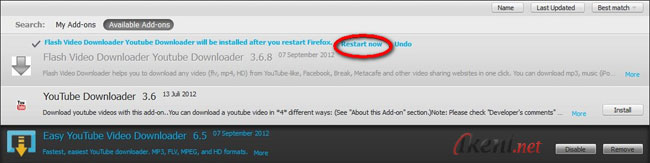 Download Youtube Add-ons Firefox (Gbr 4) | Ikeni net