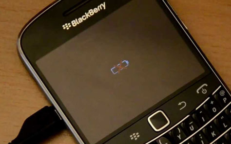 Memperbaiki Baterai BlackBerry Error Tanda Silang (X) Merah ...