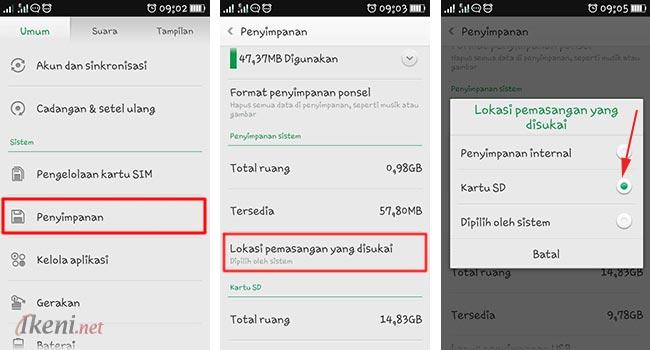 Tips ColorOS OPPO: Agar App Terinstal Otomatis ke SD Card   Ikeni.net