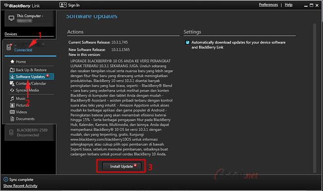2 Cara Mudah Update OS BlackBerry 10 | Ikeni net