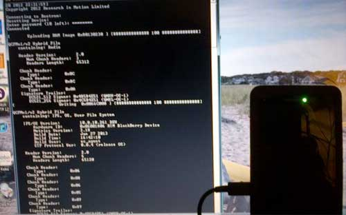 Flashing (Upgrade & Downgrade) BB10 Menggunakan Autoloader