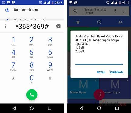 Paket Kuota Extra 4g Telkomsel 1gb Cuma 10 Ribu Ikeni Net